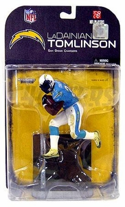McFarlane Toys NFL Sports Picks Series 18 [2008 Wave 2] Action Figure LaDainian Tomlinson (San Diego Chargers) Black Armband Variant