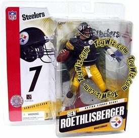 McFarlane Toys NFL Sports Picks Series 11 Action Figure Ben Roethlisberger (Pittsburgh Steelers) Black Jersey