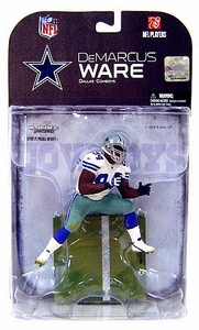 McFarlane Toys NFL Sports Picks Series 18 [2008 Wave 2] Action Figure DeMarcus Ware (Dallas Cowboys) Dirty Variant