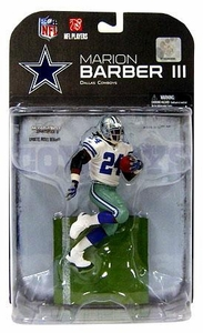 McFarlane Toys NFL Sports Picks Series 19 [2008 Wave 3] Action Figure Marion Barber (Dallas Cowboys) White Jersey