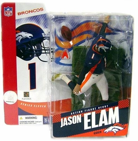 McFarlane Toys NFL Sports Picks Series 11 Action Figure Jason Elam (Denver Broncos) Chase Piece