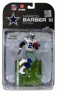 McFarlane Toys NFL Sports Picks Series 19 [2008 Wave 3] Action Figure Marion Barber (Dallas Cowboys) Blue Glove Variant