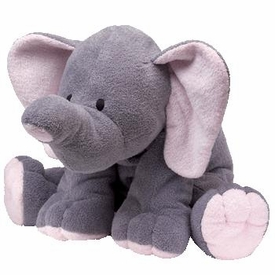Ty Pluffies Plush Winks the Grey Elephant
