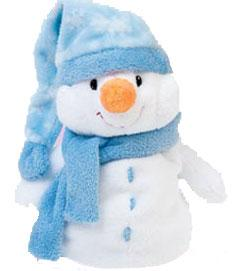 Ty Pluffies Plush Windchill the Snowman
