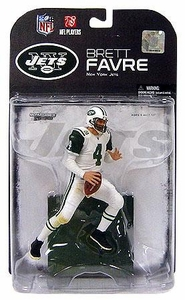 McFarlane Toys NFL Sports Picks Series 19 [2008 Wave 3] Action Figure Brett Favre (New York Jets) White Jersey