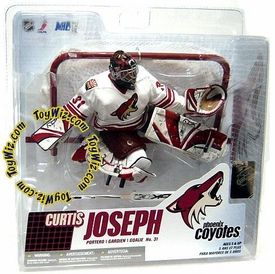 McFarlane Toys NHL Sports Picks Series 14 Action Figure Curtis Joseph (Phoenix Coyotes) White Jersey