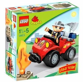 LEGO DUPLO LEGO Ville Set #5603 Fire Chief