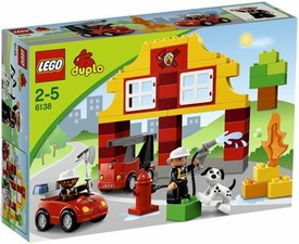 LEGO DUPLO Set #6138 My First Fire Station