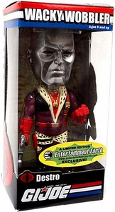 Funko GI Joe Limited Edition Wacky Wobbler Bobble Head Pimp Daddy Destro