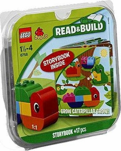 LEGO DUPLO Read & Build Set #6758 Grow Caterpillar Grow!