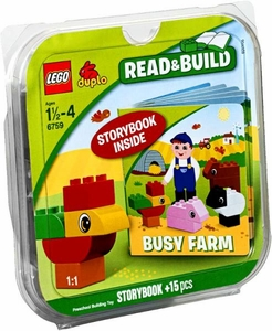 LEGO DUPLO Read & Build Set #6759 Busy Farm