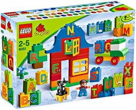 LEGO DUPLO Set #6051 Bricks & More Play with Letters