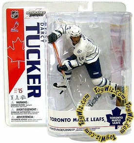 McFarlane Toys NHL Sports Picks Series 15 Action Figure Darcy Tucker (Toronto Maple Leafs) White Jersey