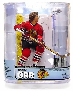 McFarlane Toys NHL Sports Picks Legends Series 5 Action Figure Bobby Orr (Chicago Blackhawks)