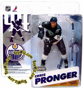 McFarlane Toys NHL Sports Picks Series 12 Action Figure Chris Pronger (Edmonton Oilers) Blue Jersey