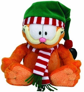 Ty Christmas Garfield Beanie Baby Seasons Greetings Garfield