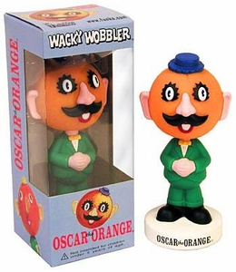 Funko Wacky Wobbler Bobble Head Oscar the Orange