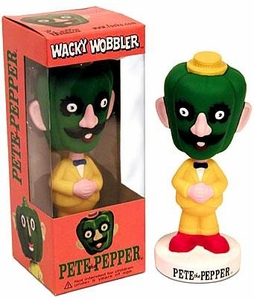 Funko Wacky Wobbler Bobble Head Pete the Pepper