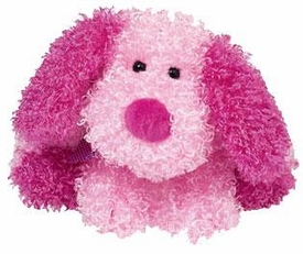 Ty Beanie Baby Pinkys Sparkles the Dog
