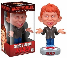 Funko MAD Magazine Wacky Wobbler Bobble Head Alfred E. Neuman