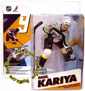 McFarlane Toys NHL Sports Picks Series 12 Action Figure Paul Kariya (Nashville Predators) White Jersey
