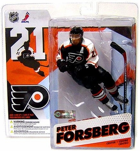 McFarlane Toys NHL Sports Picks Series 12 Action Figure Peter Forsberg (Philadelphia Flyers) Black Jersey