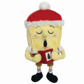 Ty Spongebob Squarepants Beanie Baby Spongebob Jingle Bells