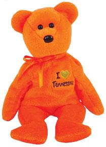 Ty Beanie Baby I Love Tennessee the Bear