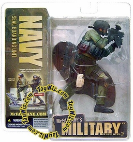 McFarlane Toys Military Soldiers REDEPLOYED Series 2 Action Figure Navy SEAL Boarding Unit (*Random Ethnicity)