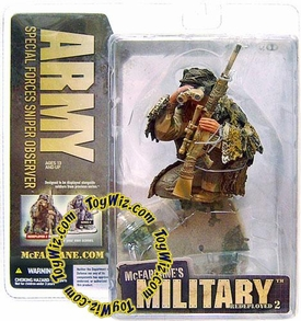 McFarlane Toys Military Soldiers REDEPLOYED Series 2 Action Figure Army Special Forces Sniper Observer [Caucasian]