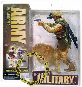 McFarlane Toys Military Soldiers REDEPLOYED Series 2 Action Figure Army Paratrooper (*Random Ethnicity)