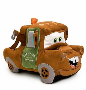 Disney / Pixar CARS Movie 15 Inch Deluxe Plush Figure Mater