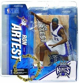 McFarlane Toys NBA Sports Picks Series 11 Action Figure Ron Artest (Sacramento Kings)