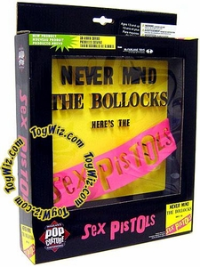 McFarlane Toys Pop Culture Masterworks 3-D Album Cover Sex Pistols Never Mind the Bollocks (Pink Banner)