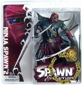 McFarlane Toys Spawn Series 29 Evolutions Action Figure Ninja Spawn 2