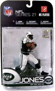 McFarlane Toys NFL Sports Picks Series 21 [2009 Wave 2] Action Figure Thomas Jones (New York Jets)