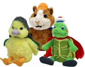 Ty Set of 3 Wonder Pets Beanie Babies [Linny, Tuck & Ming-Ming]