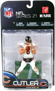 McFarlane Toys NFL Sports Picks Series 21 [2009 Wave 2] Action Figure Jay Cutler (Chicago Bears) White Jersey Variant