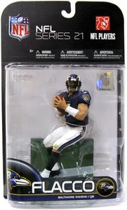 McFarlane Toys NFL Sports Picks Series 21 [2009 Wave 2] Action Figure Joe Flacco (Baltimore Ravens)