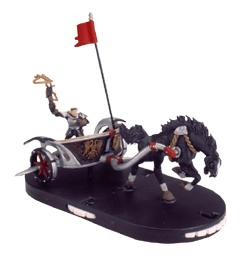 Mage Knight Limited Edition Figure Knights Immortal Charger