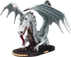 Mage Knight Limited Edition Figure Radiant Light Dragon
