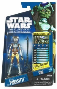 Star Wars 2010 Clone Wars Animated Action Figure CW No. 37 Cato Parasiti