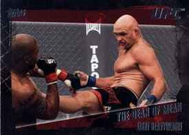 UFC Topps Ultimate Fighting Championship 2010 Championship Single Card Base Set Nickname #26 The Dean of Mean