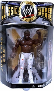 WWE Wrestling Classic Superstars Series 4 Action Figure Junkyard Dog {JYD} [White Pants]