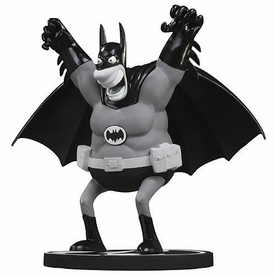 Batman DC Limited Edition 6.5 Inch Statue Batman Black & White [Sergio Aragons]