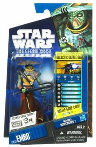 Star Wars 2010 Clone Wars Animated Action Figure CW No. 33 Embo