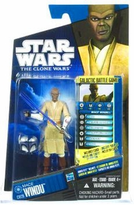 Star Wars 2010 Clone Wars Animated Action Figure CW No. 20 Mace Windu BLOWOUT SALE!