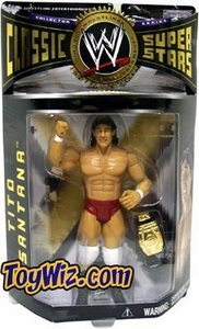 WWE Jakks Pacific Wrestling Classic Superstars Series 4 Action Figure Tito Santana BLOWOUT SALE!