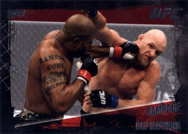 UFC Topps Ultimate Fighting Championship 2010 Championship Single Card Base Set Nickname #43 Rampage