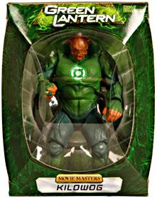 Green Lantern Movie Masters SDCC 2011 San Diego Comic Con Exclusive Action Figure Kilowog